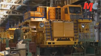 Application of the grease MC-1000 at the factory BelAZ